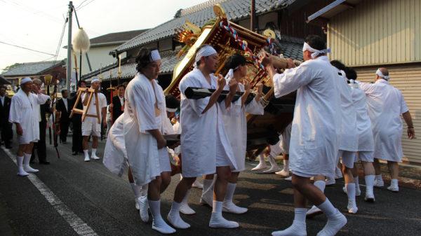 植木神社祇園祭還幸祭