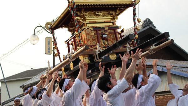 植木神社祇園祭神輿