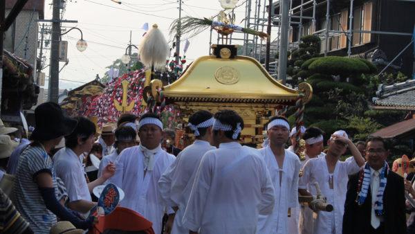 植木神社祇園祭