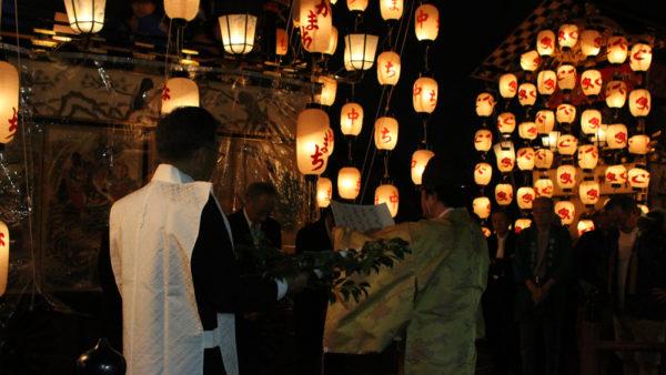 植木神社祇園祭宵宮