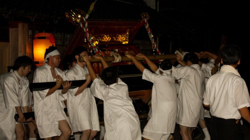 植木神社祇園祭遷幸祭