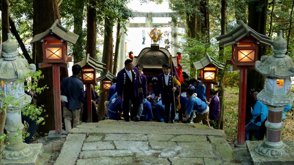 鸕宮神社神輿