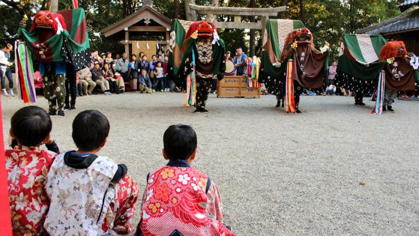 鸕宮神社獅子神楽