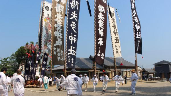 陽夫多神社祇園祭
