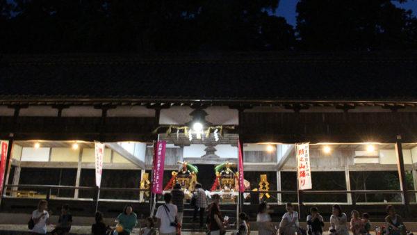 陽夫多神社祇園祭 宵宮