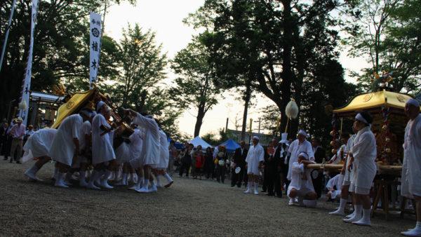 植木神社祇園祭 神輿