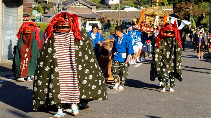 種生神社渡御式