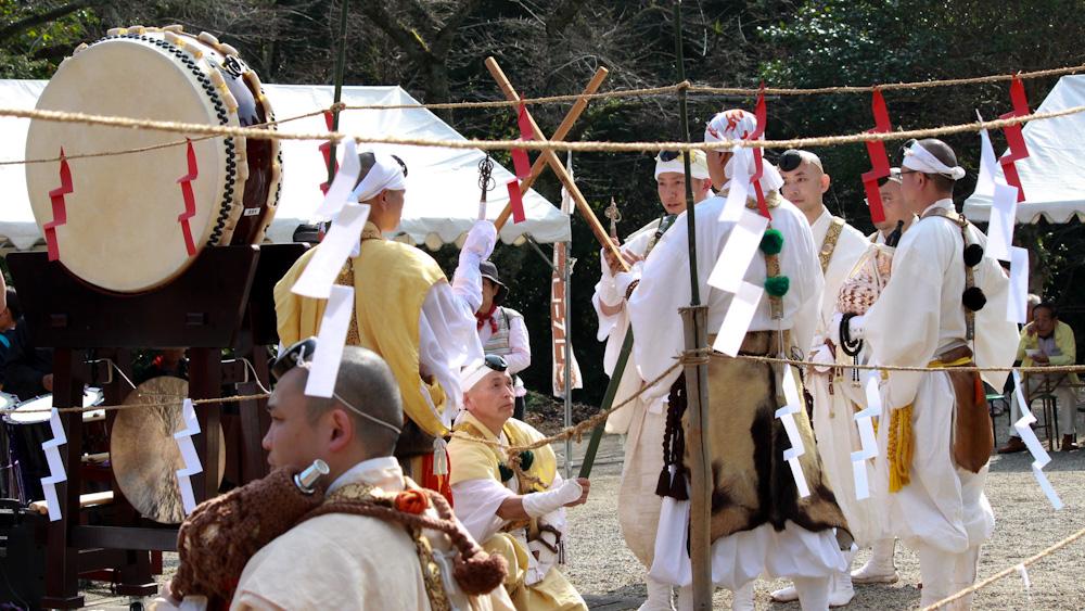 上津の火祭り