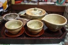 伊賀焼の茶器
