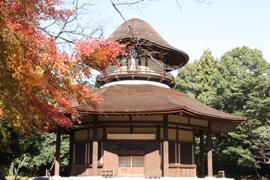俳聖殿-紅葉