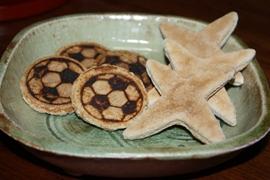 サッカー・手裏剣 かたやき (10)