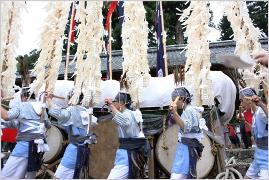 陽夫多神社祇園祭ー願之山行事